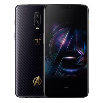 OnePlus 6 The Avengers Edition 4G Phablet International Version - BLACK